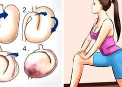 5 упражнений, которые очень быстро подтягивают живот