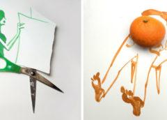 20 творческих рисунков Кристофа Ниманна, в каждом из которых есть своя изюминка